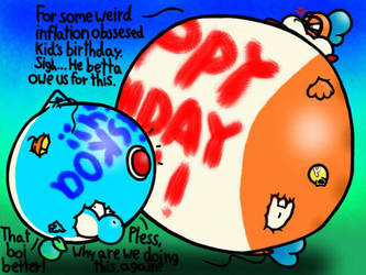 Happy Birthday Luiskoa64! by GameKing427
