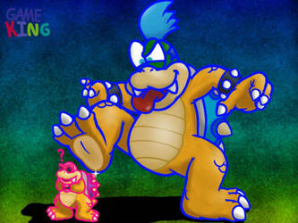 Risky Idea Big Larry (Black) by GameKing427