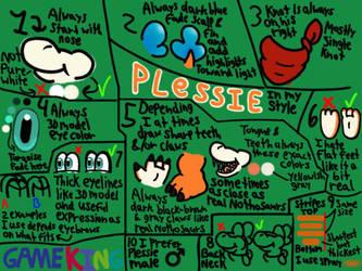 My Version of Plessie Template by GameKing427