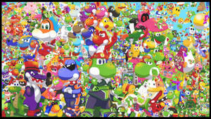 The Super Yoshi Clan Project 2018 by GameKing427