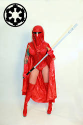 Imperial Guard inspired Cosplay by Naomi-VonKreeps