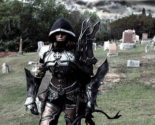 Demon Hunter cosplay by Naomi-VonKreeps