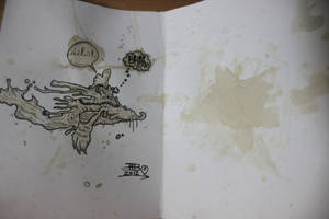 Coffee stain psych card by Rebate-BrainVomit