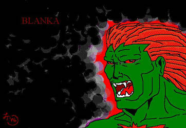 Blanka Street Fighter by Kitrakaya