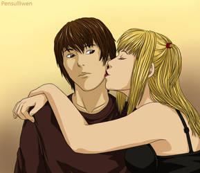 Stealing a Kiss by Pensulliwen