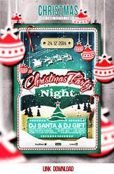 Christmas Flyer/Poster Retro Vol.7 by elisamaggit