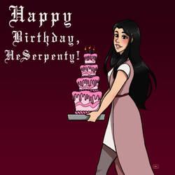 Happy Birthday HeSerpenty! by spacendisgrace