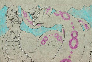 Millia Wars DX: Ouroboros by omnifelpur