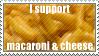 mac n cheese stamp by SpiritLeTitan
