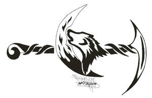 Howling Wolf re-done by sapphire-blackrose