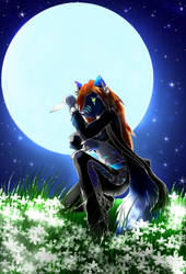 The Midnight Huntress by sapphire-blackrose