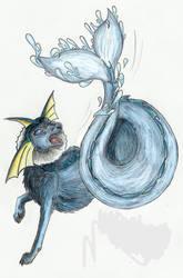 Aqua Tail by sapphire-blackrose