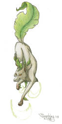 Realistic Leafeon by sapphire-blackrose