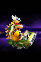 Bowser Mario Kart Wii for iPhone / iPod by DonKoopa