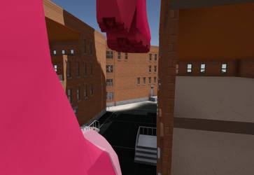 In an alley by HGrobo