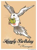 Happy birthday to Huanyuu by Nicca11y