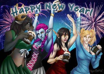 Happy New Year! by Kaer-Baer