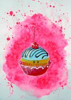 I am a simple cupcake by Alessio-Devoto