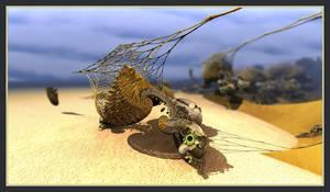 Beach Creature 1 by gannjondal