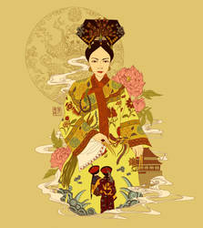 Cixi by kiddhe