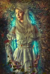 Glamorosa rainha do Photoshop by ThunderBR