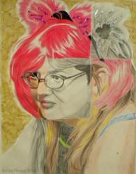 Self Portrait by tenshichild