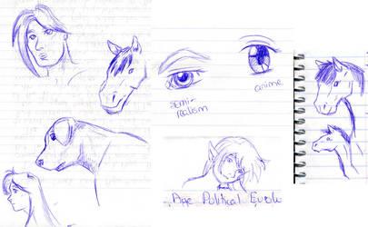 Sketchdump 2 by tenshichild