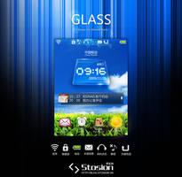 GLASS - MOBI UI by stosion