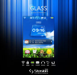 GLASS - MOBI UI by stosion