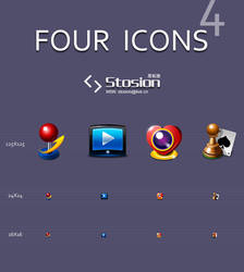 Four Icons by stosion