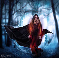 The witch in the woods by katmary