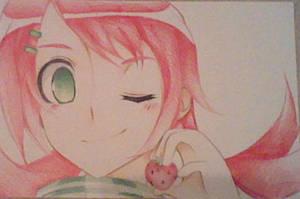 Strawberry by oOMarikoOo