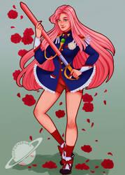 Revolutionary Girl Utena by kuiperdraws