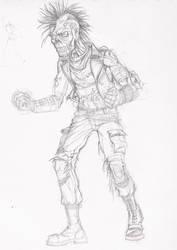 Zombie Punk by Pisswizard