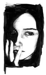 Sad little Jane by renonevada