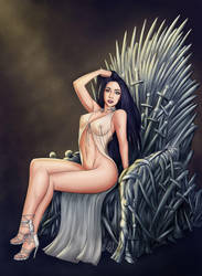 Iron Throne Pinup by renonevada