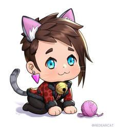 caleb vatore cat by kkamming