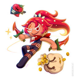 Chili Pepper Cookie! by kkamming