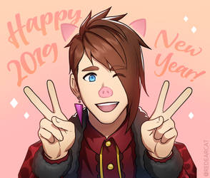 HAPPY NEW YEAR 2019 by kkamming