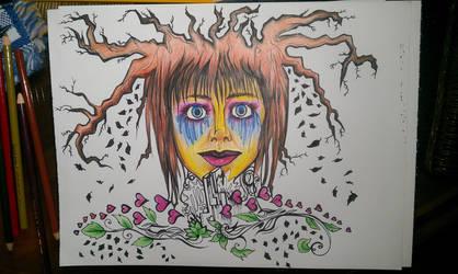 She's Growing by la-morte-amoreuse