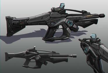 UE4 magnetic gun by ArtofChen