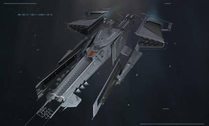 Spaceship design by ArtofChen