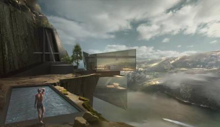 Cliffhouse by ArtofChen