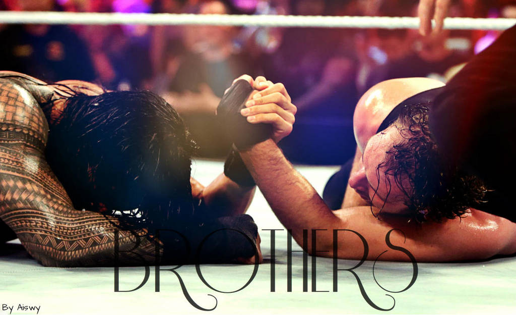 Brothers Dean Ambrose And Roman Reigns By Dixonija On Deviantart