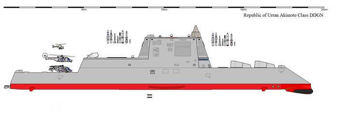 Akimoto Class DDGN by fugupuffer-68