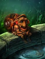 Pond Spirit by dobsun