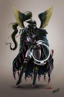 Mortred the Phantom Assassin by isaiahpaulcabanting