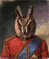 Field marshal Owlton Hoots by Bra1nEater