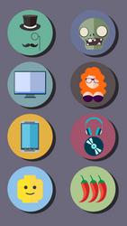 Custom wallpaper for HTC One by velvet-child