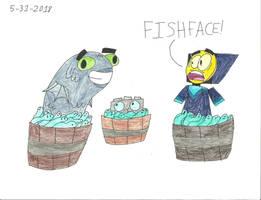 UNKYXEENE - FISHFACE! by worldofcaitlyn
